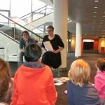 Foto: Schülerreporter der Marienborn-Grundschule