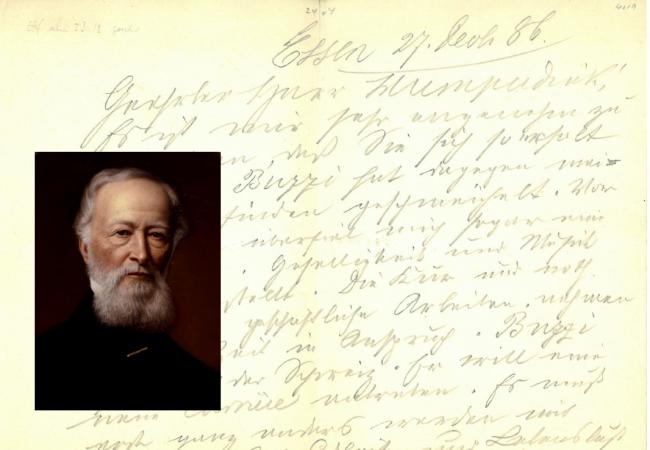 Der Großindustrielle und der Komponist: Engelbert Humperdinck auf der Villa Hügel