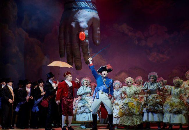 In die Oper, fertig, los!