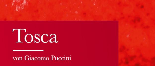 10 Dinge, die Sie über Tosca wissen sollten
